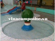 Quả cầu phun nước bể bơi