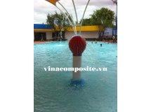 Đồ chơi phun nước hồ bơi